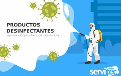 Pioneros en la desinfección por Pulverización Electrostática